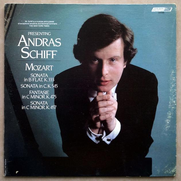 London ffrr | SCHIFF/MOZART - Sonatas K.333, K.545, K.457, Fantasie K.475 / NM