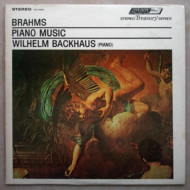 London ffrr | BACKHAUS/BRAHMS - Piano Music / NM