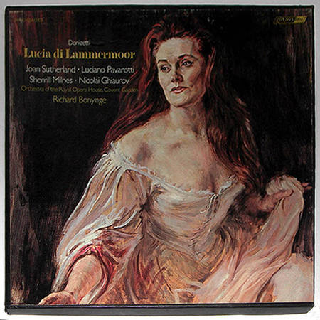 London ffrr | BONYNGE/DONIZETTI - Lucia di Lammermoor / 3-LP / NM