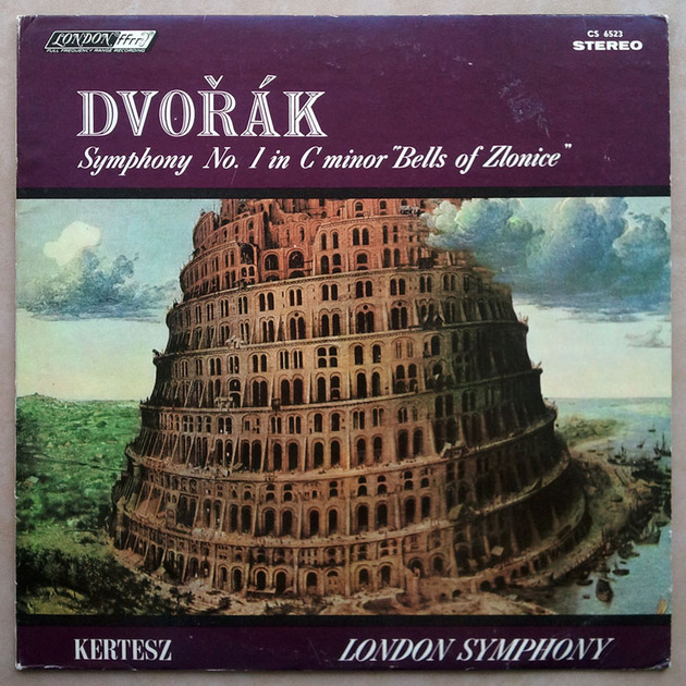 London ffrr   KERTESZ/DVORAK - Symphony No. 1 The Bells of Zlonice / NM
