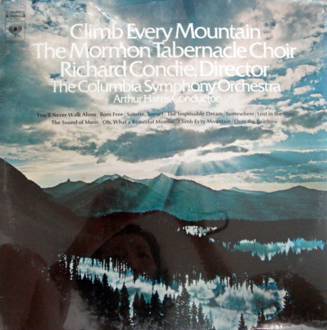 ★Sealed★ Columbia /  - MORMON TABERNACLE. Climb Every Mountain!