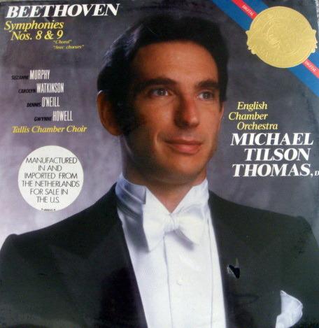 ★Sealed★ CBS / TILSON-THOMAS, - Beethoven Symphony No.9 Chorale,  2LP Set!
