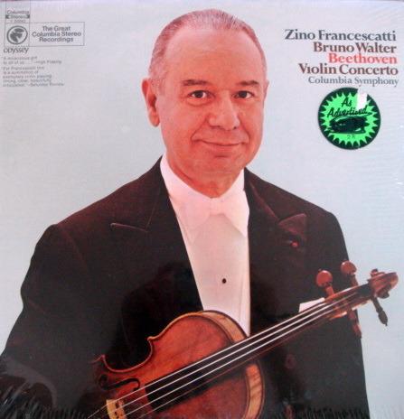★Sealed★ Columbia Odyssey / - FRANCESCATTI, Beethoven Violin Concerto!