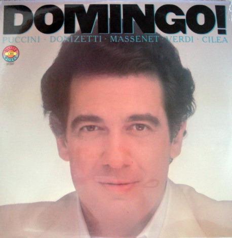 ★Sealed★ CBS / PLACIDO - DOMINGO sings  Opera Arias!