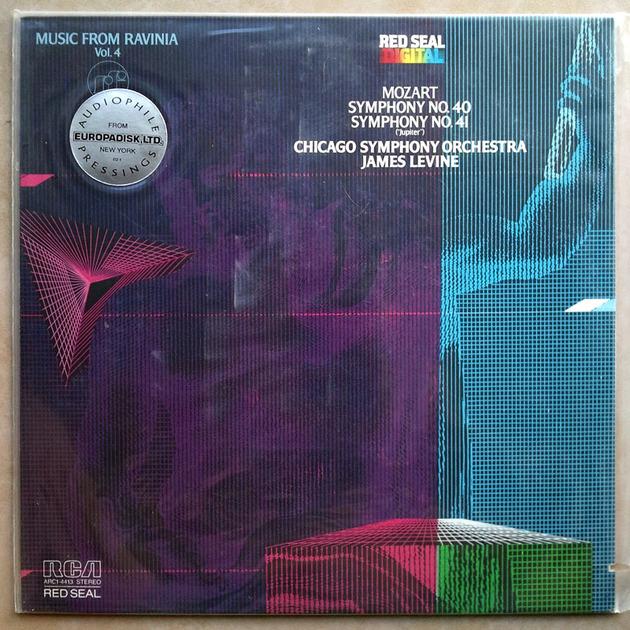 Sealed RCA Digital | LEVINE/MOZART - Symphonies Nos. 40 & 41 / Audiophile Pressings