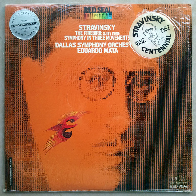 Sealed RCA Digital   MATA/STRAVINSKY - The Firebird Suite, Symphony in Three Movements / Audiophile Pressings - DEMO Copy