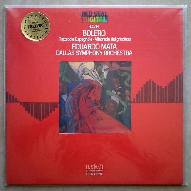 Sealed RCA Digital | MATA/RAVEL - Bolero, Rapsodie espagnole, Alborada del gracioso / German Pressings
