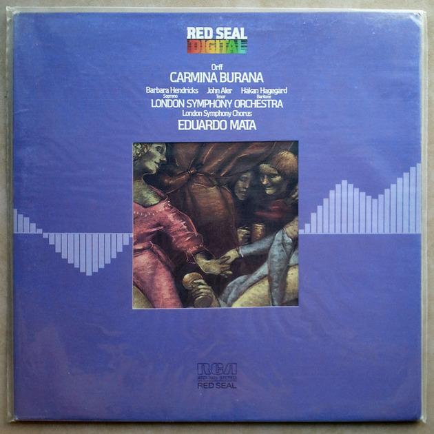Sealed RCA Digital | MATA/ORFF - Carmina Burana / German Pressings - Promo Copy
