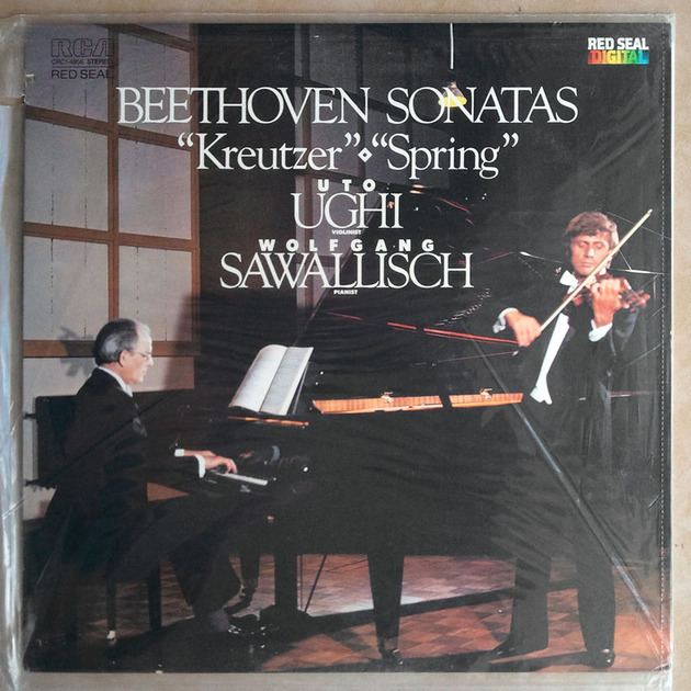 Sealed RCA Digital | UGHI/SAWALLISCH/BEETHOVEN - Kreutzer & Spring Sonatas