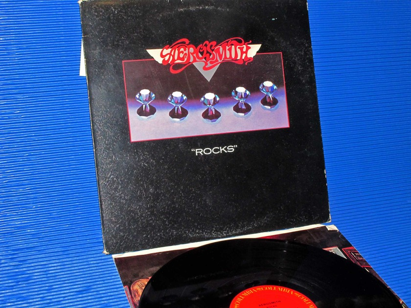 "AEROSMITH -  - ""Rocks"" -  Columbia 1976 1st Pressing Mastered by Sterling"