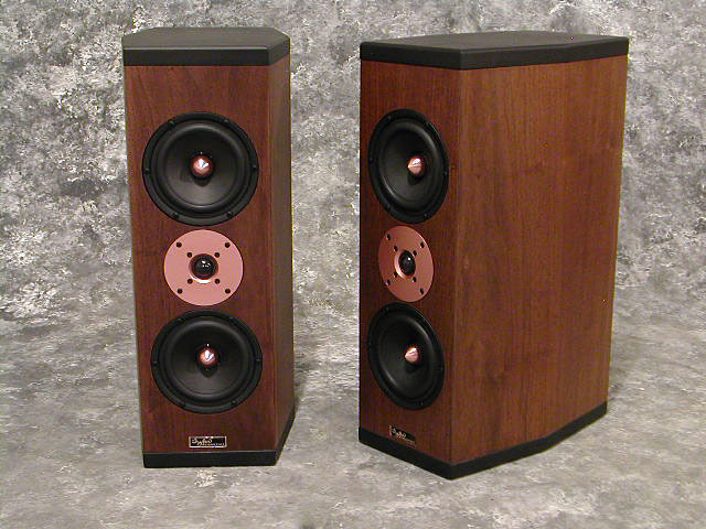 Tyler Acoustics D3M's in dark walnut! special $1500 shipped!