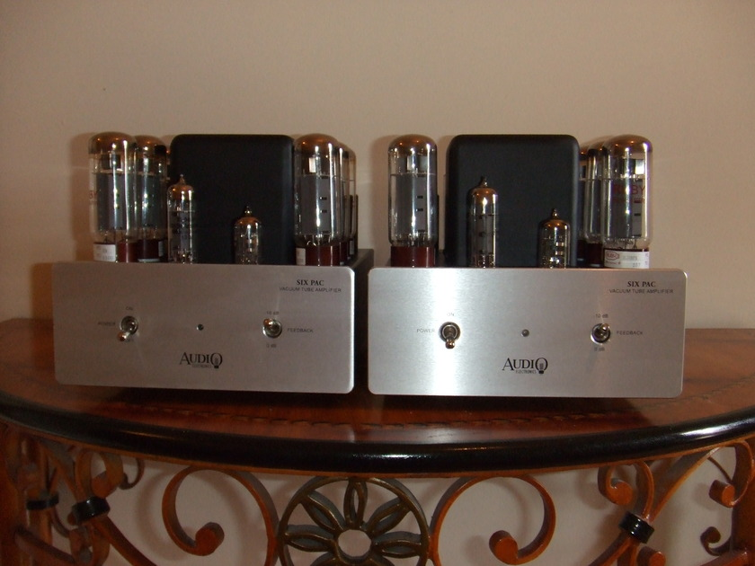 AES (Cary Audio) Sixpacs triode monoblocks
