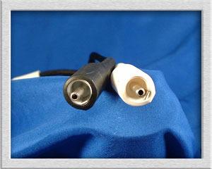 Aural Thrills Audio Silver Braid with Silver Teflon Rca Get Rid of the Brass