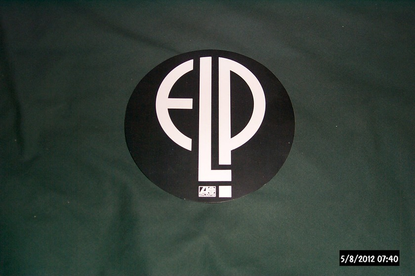Elp - Atlantic Records promo logo sticker