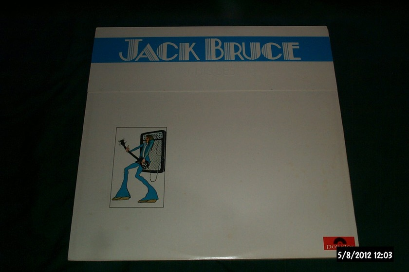 Jack bruce - At His Best 2 lp polydor 1972 nm