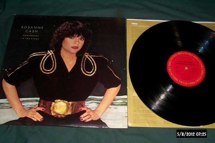 Roseanne Cash - Somewhere In The Stars LP NM