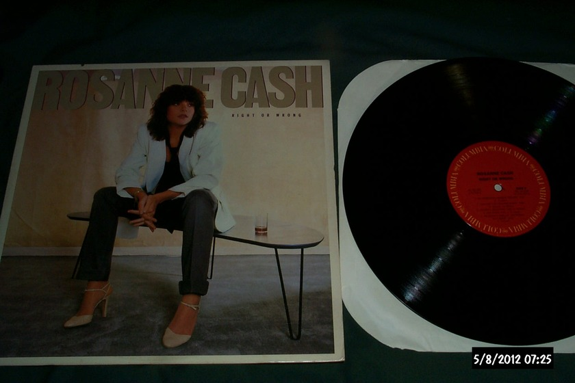 Roseanne Cash - Right Or Wrong LP NM