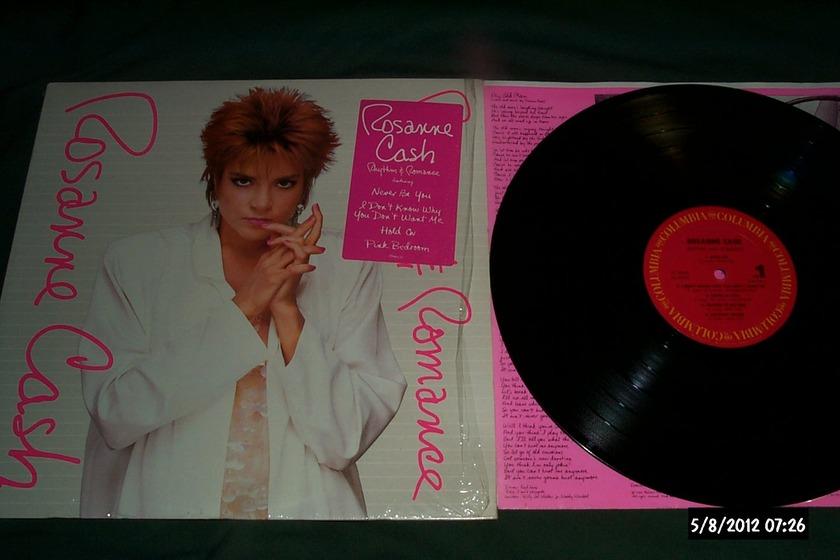 Roseanne Cash - Rhythm & Romance LP NM