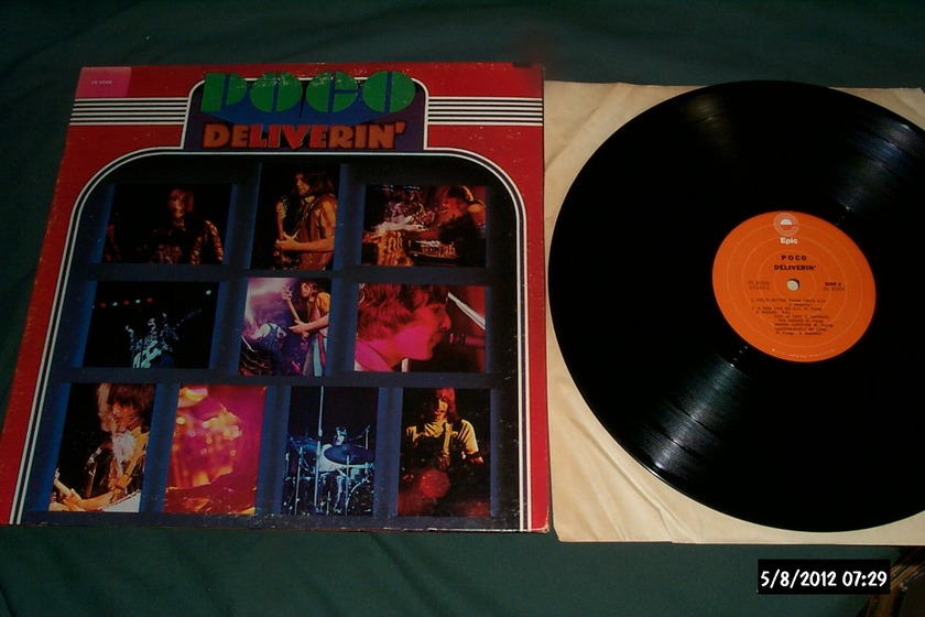 Poco - Deliverin' LP NM