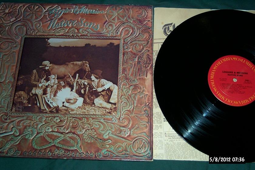 Loggins & Messina - Native Sons LP NM