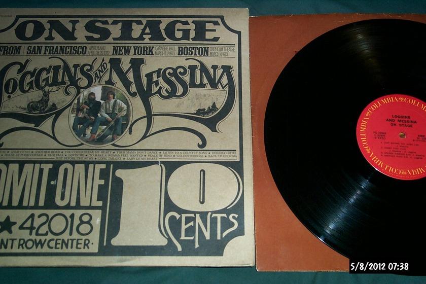 Loggins & Messina - On Stage 2 lp gatefold cover nm
