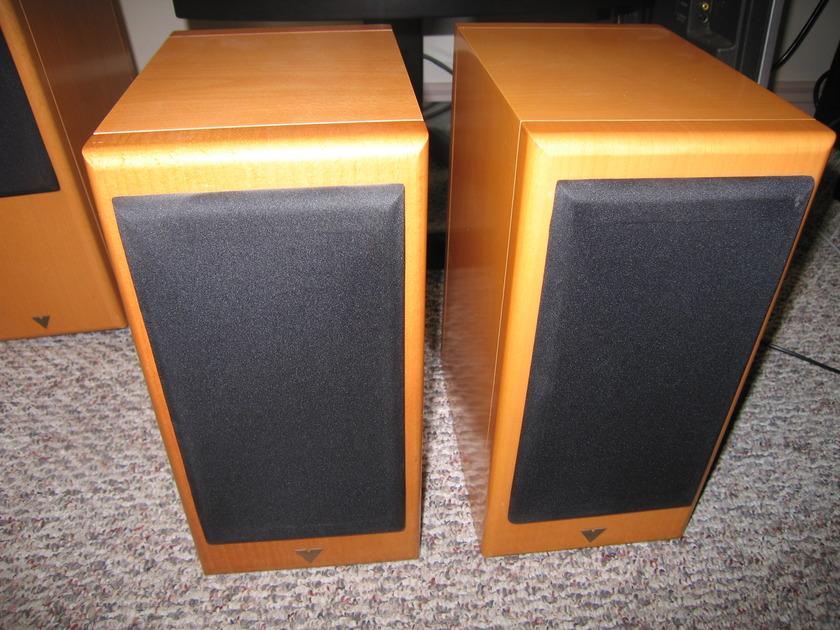 Vienna Acoustics Haydn Classic Bookshelf Speaker Pair-Beech