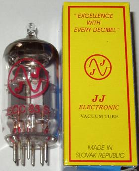 JJ preamp tubes ECC81/82/83/E88CC brand new in boxes