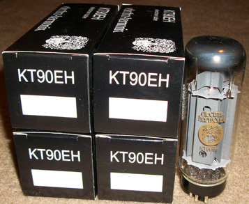 Electro harmonix KT90 / KT88 tubes brand new matched quads !
