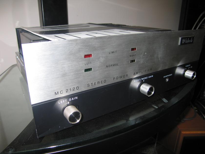 McIntosh MC2120 Stereo Power Amplifier
