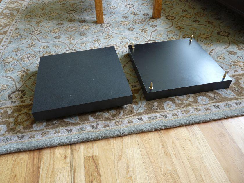 Two Monoblock Amp Platforms