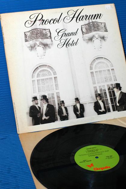 "PROCOL HARUM -  - ""Grand Hotel"" -  Chrysalis 1973 1st pressing"
