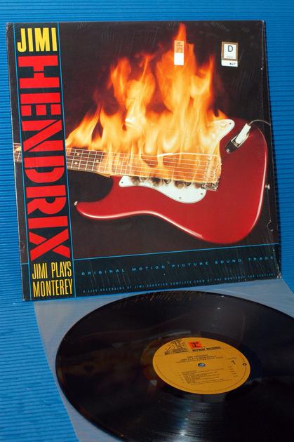 "JIMI HENDRIX -  - ""Jimi Plays Monterey"" -  Reprise 1986"