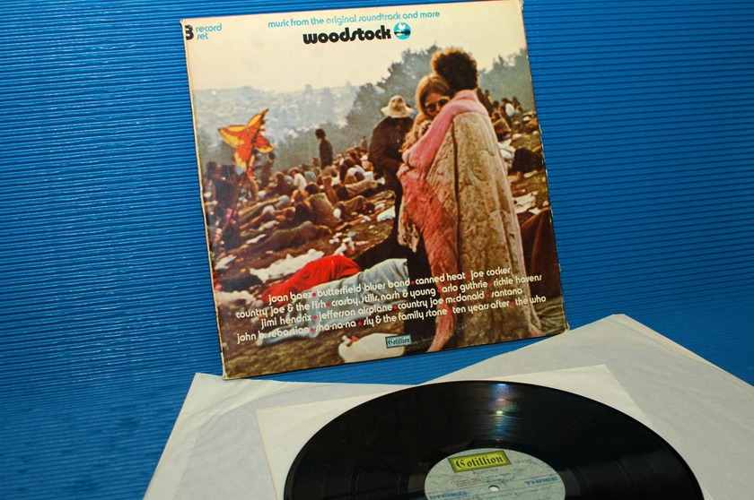 """WOODSTOCK -  - """"Music from the Original Soundtrack"""" -  Cotillion 1970"""