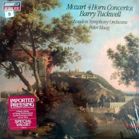 ★Sealed★ London-Decca /  - TUCKWELL-MAAG, Mozart 4 Horn Concertos!