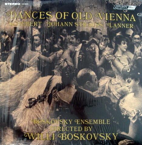 ★Sealed★ London-Decca / - BOSKOVSKY, Dances of Old Vienna!