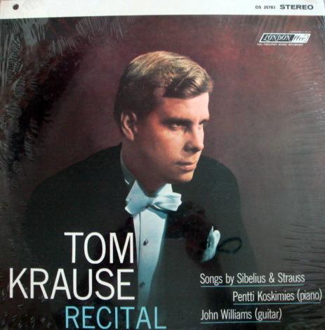 ★Sealed★ London-Decca / JOHN WILLIAMS, - TOM KLAUS  Recital!
