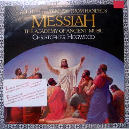 ★Sealed★ London-L'OISEAU-LYRE / - HOGWOOD, Handel Messiah Highlights!