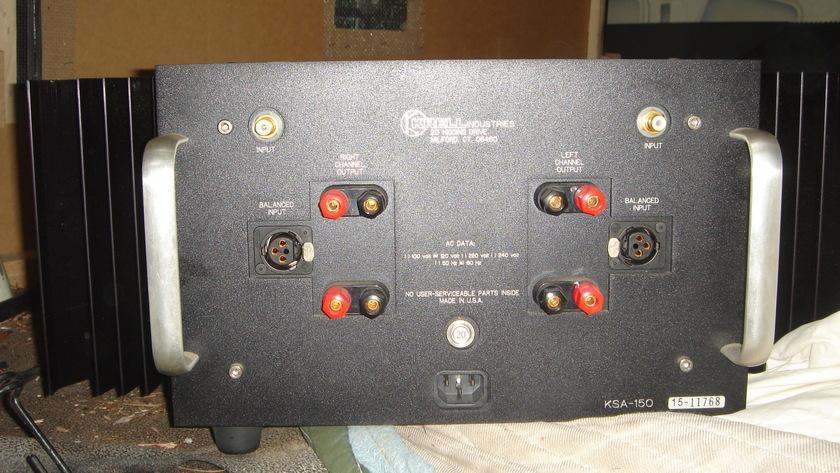 Krell KSA-150 Class A amplifier