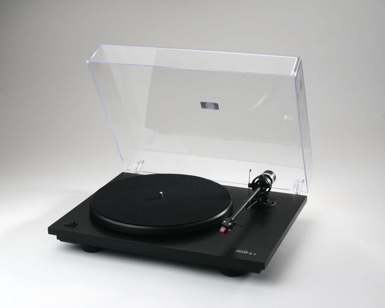 Music Hall MMF 2.2 Turntable with Cartridge Gloss Black