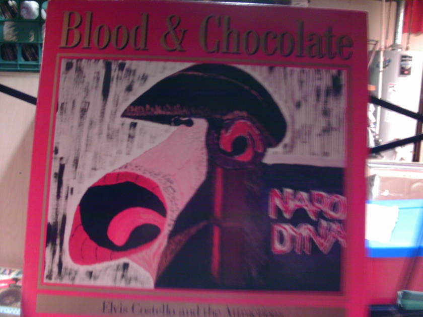 ELVIS COSTELLO - BLOOD AND CHOCOLATE
