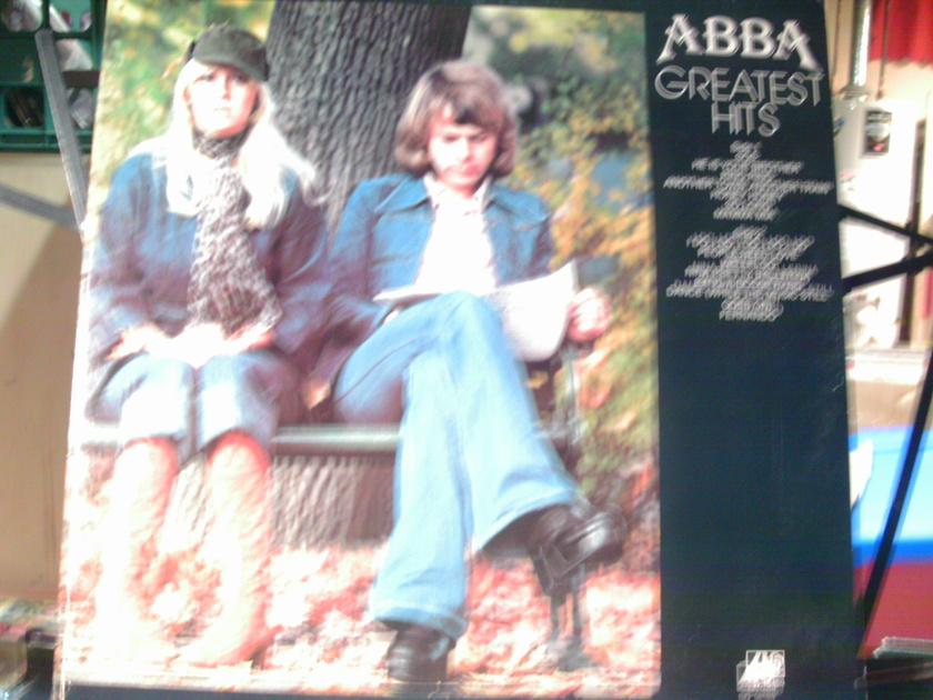 ABBA - HITS VOL 1 AND 2 2 LPS 1 SHIP PRICE