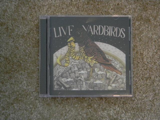 YARDBIRDS - LIVE YARDBIRDS FEATURING JIMMY PAGE