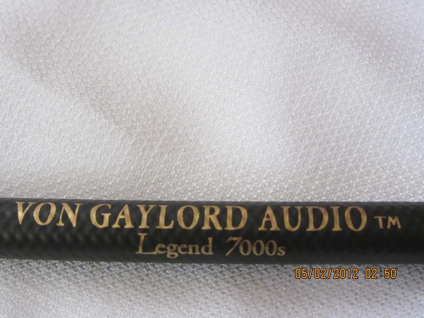 Von Gaylord Audio Legend 7000s - Free Trial