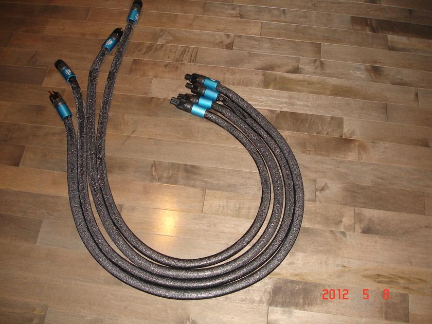 JPS ALUMINATA 2 meter power cables 15 amp