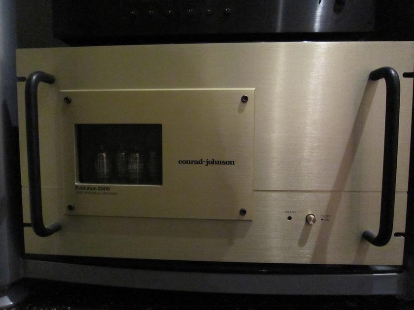 Conrad Johnson Evolution 2000 Mammoth Hybrid 200wpc Amplifier