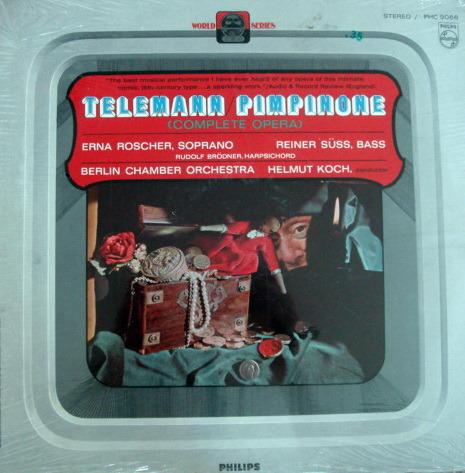 ★Sealed★ Philips /  - KOCH, Telemann Pimpinone!