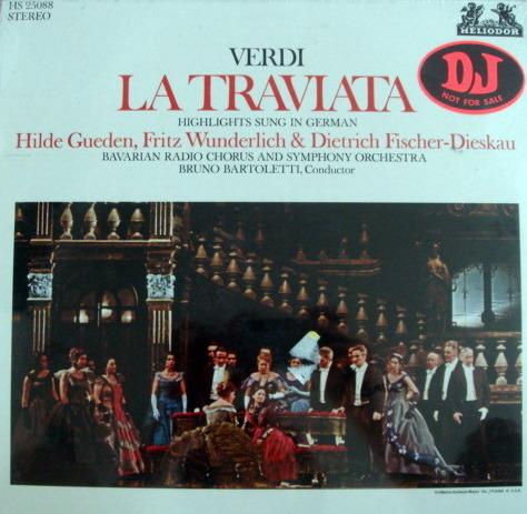 ★Sealed★ Helidor / GUEDEN-WUNDERICH, - Verdi La Traviata Highlights, Promo Copy!