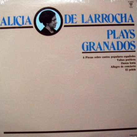 ★Sealed★ Vox Turnablut /  - ALICA DE LARROCHA plays Granados!