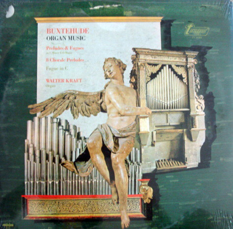 ★Sealed★ Vox Turnabout /  - KRAFT, Buxtehude Organ Music!