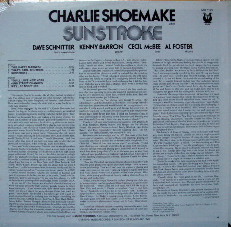 ★Sealed★ Muse Records / - Charlie Shoemake, Sunstroke!